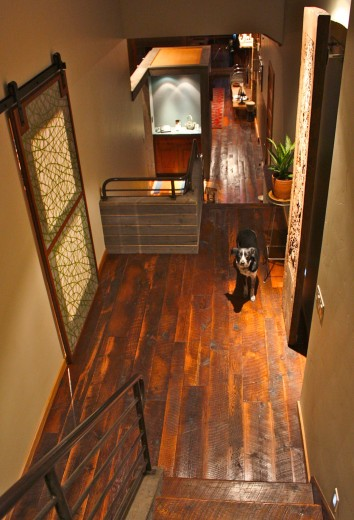 Beautiful hardwood flooring & doors